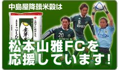松本山雅を応援しています。
